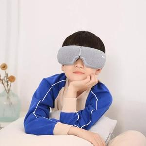 Image 4 - Youpin Momoda 5V 5W 3Modes Rechargeable Folding Eye Massager Graphene Thermostatic Heating Kneading Bluetooth Smart Eye Mask