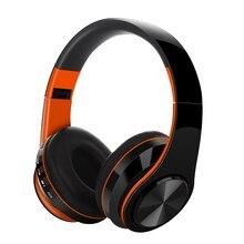 Профессиональные улучшенные портативные беспроводные наушники, Bluetooth, складная стереогарнитура, аудио, Mp3, регулируемые наушники с микрофоном