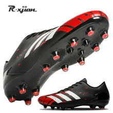 Унисекс футбольная обувь с длинными шипами ботильоны для футбола
