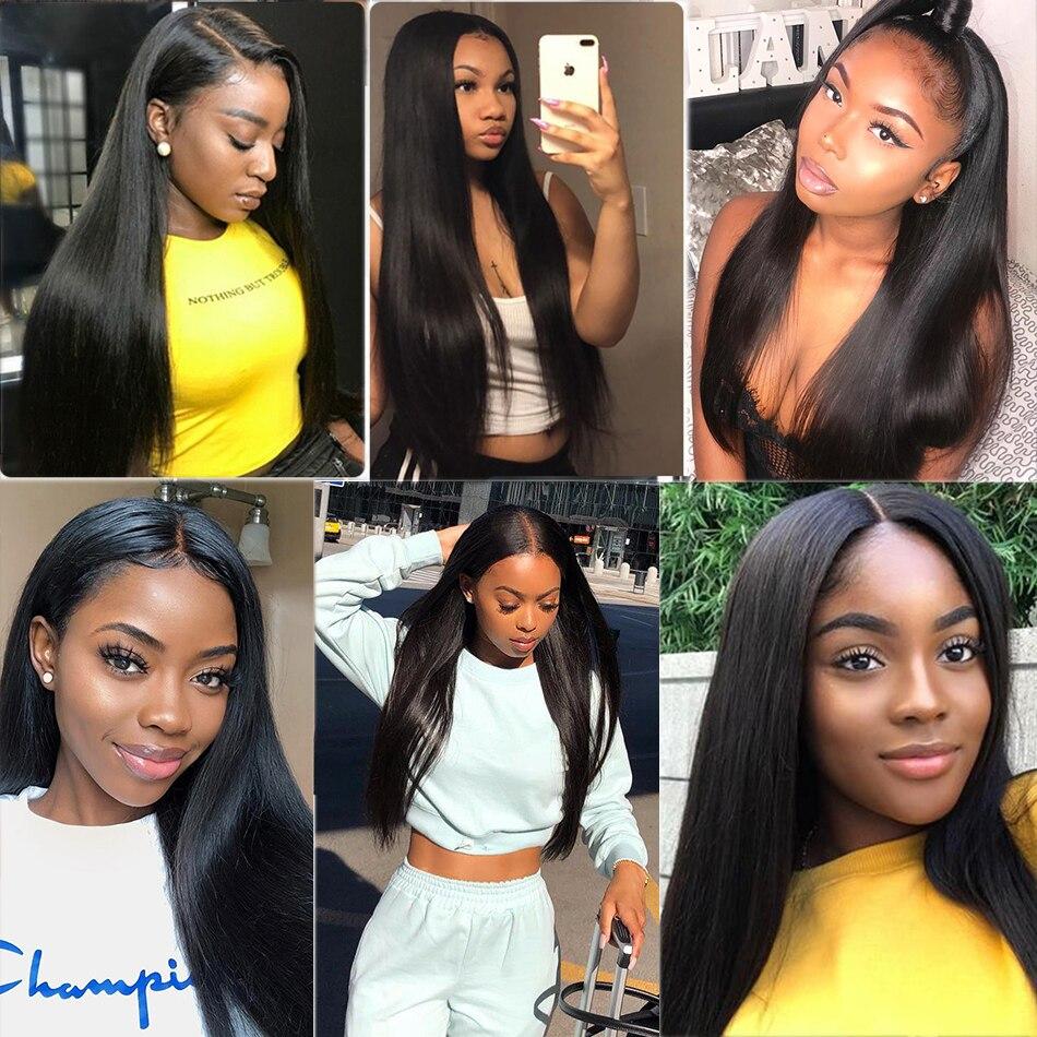 Straight Bundles Virgin Hair Bundles 40 Inch Long   Natural  Bundles  Bone Straight Hair 2
