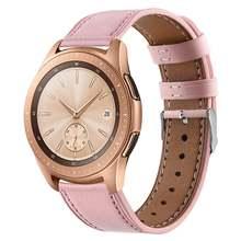 Ремешок кожаный для samsung galaxy watch active браслет из натуральной