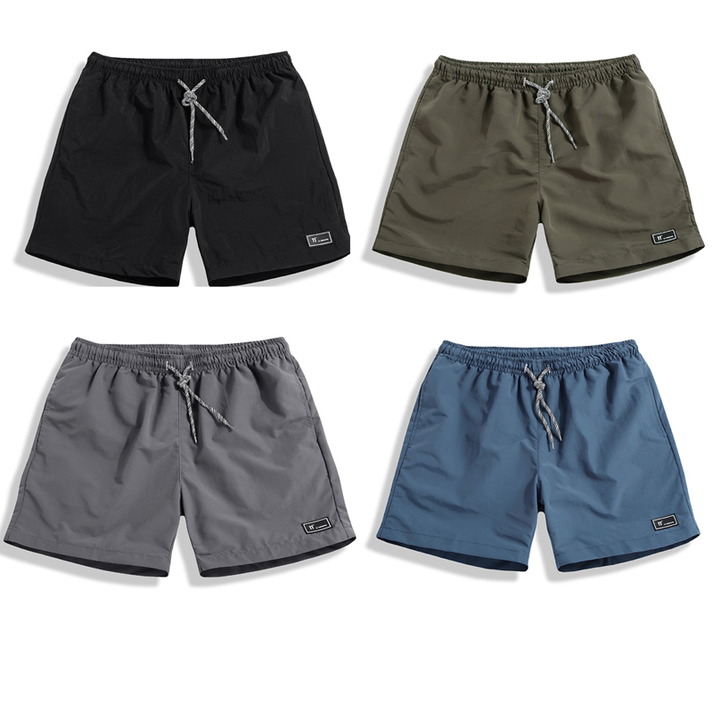 2020 New Shorts Men Summer Plus Size Thin Fast-drying Beach Trousers Casual Sports Short Pants Clothing Spodenki Short Homme