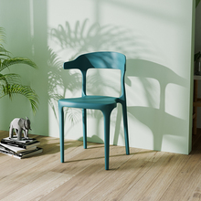 Nordic INS fashion plastic restaurant dining chair restaurant office meeting computer chair home bedroom learning plastic chair цена и фото