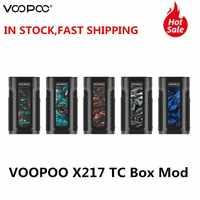 VOOPOO X217 TC Box Mod Vape 217W GENE.FIT puce écran TFT alimenté par 21700/20700/18650 batterie vaporisateur VS Voopoo glisser 2