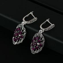 Iutopian удивительные винтажные Ретро серьги для женщин 4 цвета антикварные с блестящими кристаллами высшего качества# E1821