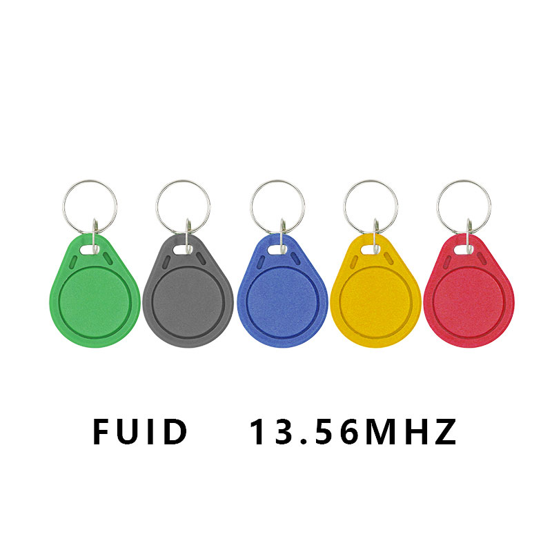 10pcs/lot RFID FUID Tag One-time UID Changeable Block 0 Writable 13.56MhzFUID Card Proximity Keyfobs Token Key Copy Clone