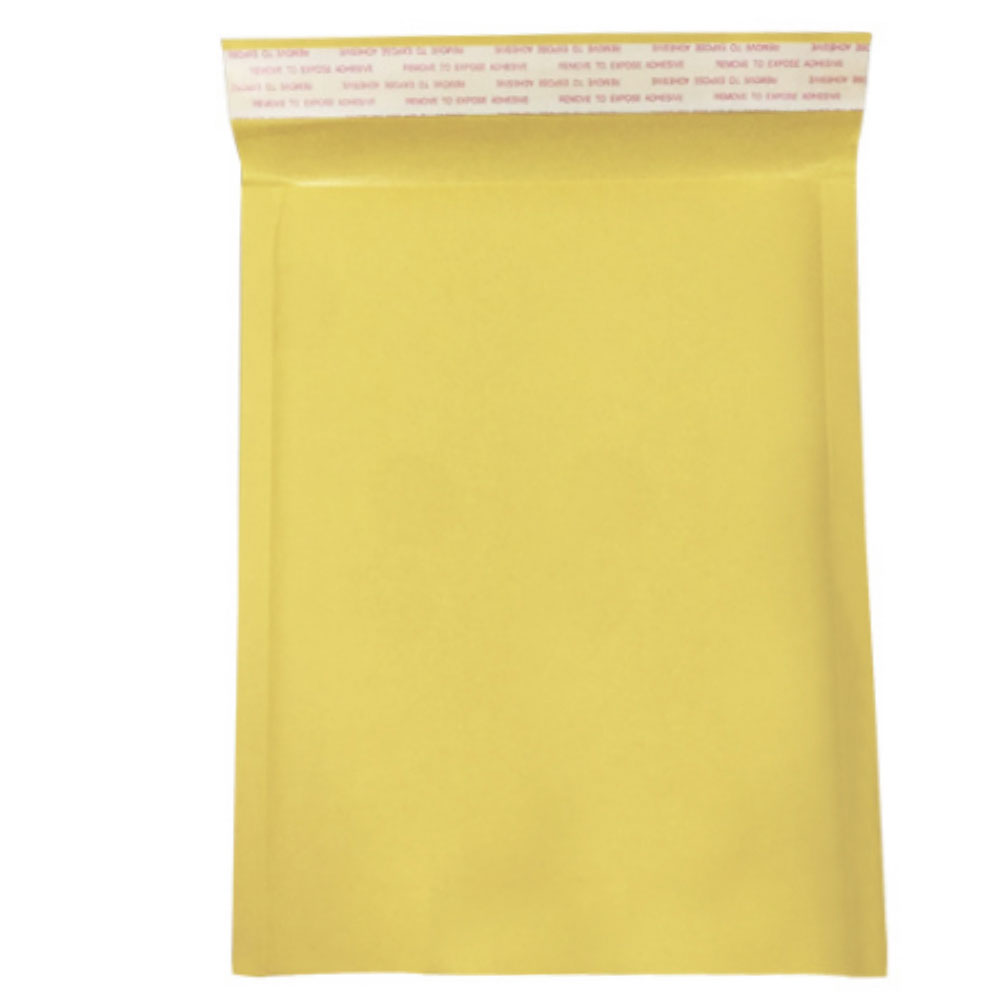 10 Pack Mailing Anti-pressure Bubble Self Seal Padded  Paper Envelopes Bag Packaging Yellow Moistureproof