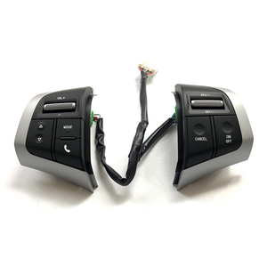 Image 3 - Constante Snelheid Cruise Schakelaar Stuurwiel Panel Afstandsbediening Radio Audio Volume Bluetooth Knop Voor Isuzu D Max Mux