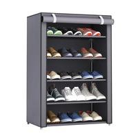 Nai yue dustproof tamanho grande não tecido sapatos de tecido rack organizador casa quarto dormitório sapato prateleiras armário prateleira|Sapateiras e organizadores de sapato|Casa e Jardim -