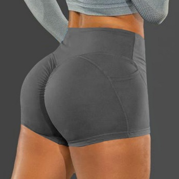 Sport Yoga Shorts Women Gym Clothes Fitness Sportswear booty scrunch High Waist Short Dry Fit Squat Proof Tracksuit