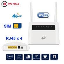 Unlocked CPE 300Mbps VPN 4G Router lte Modem Dongle Sim Card 4g Wifi Hotspot external antenna PK Huawei B525S-65a Tenda Router