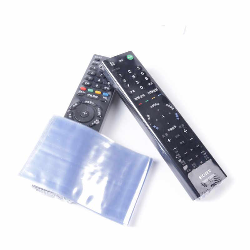 10PCS עמיד למים טלוויזיה שלט רחוק כיסוי חום לכווץ סרט מגן כיסוי מזגן שלט רחוק מגן מגן מקרה