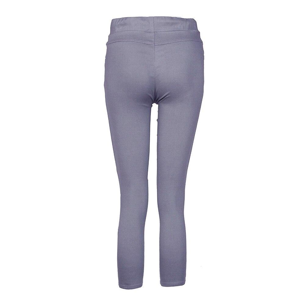 Hb1149a67891e4959b4fccc89a915def9B White Jeans Feminino Plus Size Candy Pantalon Femme Black Skinny Jeans Woman Long Pants Large Size Jeans For Women