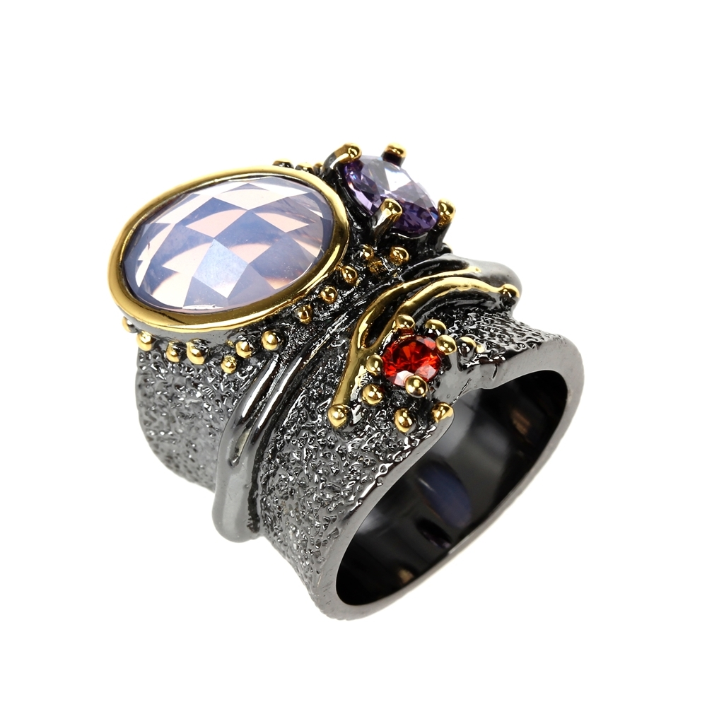 WA11749 DC1989 dreamcarnival1989 Top Brand Gothic Rings women wedding must have (8)