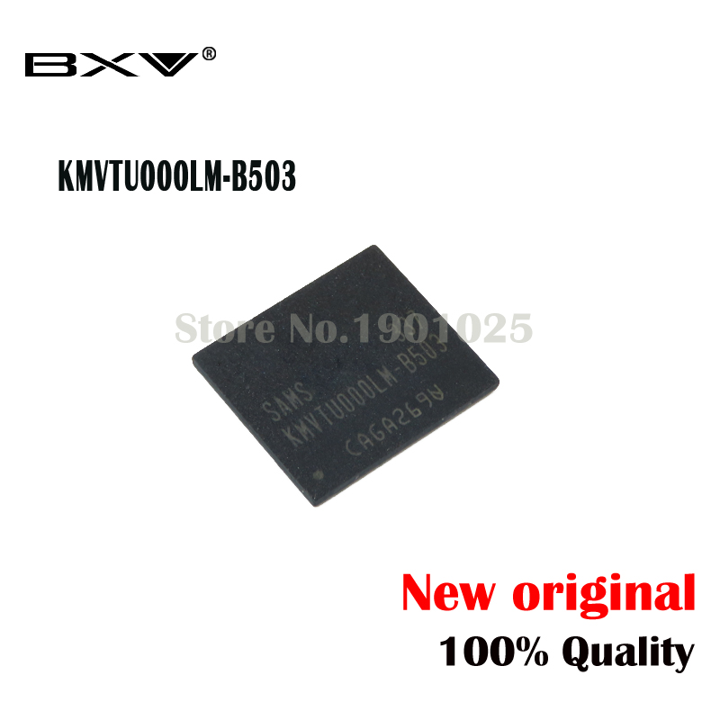 1pcs/lot EMMC 16GB Flash Memory IC KMVTU000LM-B503 For  SIII New Original