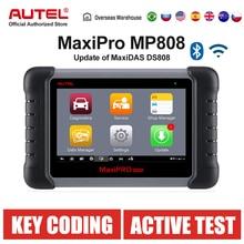 Autel MaxiPRO MP808 DS808 진단 스캐너 OE 수준 OBD2 스캐너 OBDII ds708의 자동 공구 갱신