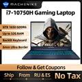 Игровой ноутбук Machenike T58, intel i7 10-го поколения, 15,6 FHD ноутбук GTX1650, компьютерные ноутбуки 16 Гб ОЗУ 512 ГБ SSD 1 Тб HDD ноутбук IPS
