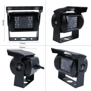 "Image 4 - DIY 720P AHD 4CH 256GB Auto Lkw Mobile AHD DVR Video Recorder Rückansicht CCTV Kamera System 7 ""Monitor Kostenloser Versand"
