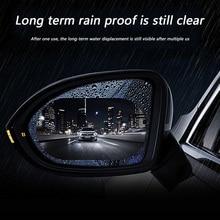 Free Shipping 2pcs Car Side Mirror Anti Fog Film Door Rearview Mirror Glare Rainproof Protective Clear Waterproof Auto Sticker