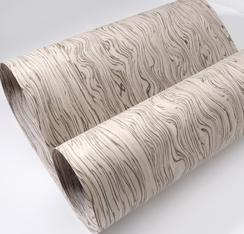 2pcs  Wide:60cm L:2.5Meters/pcs Thickness:0.25mm Technology Wood Veneer