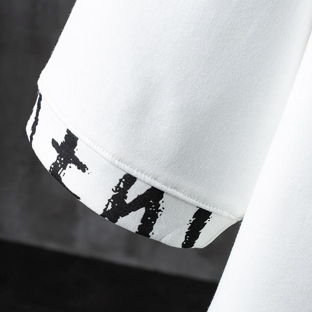 New 2020 letter  Men's T-shirt Print Cotton Summer Short Sleeve O-Neck Tees Male Fashion Shirt
