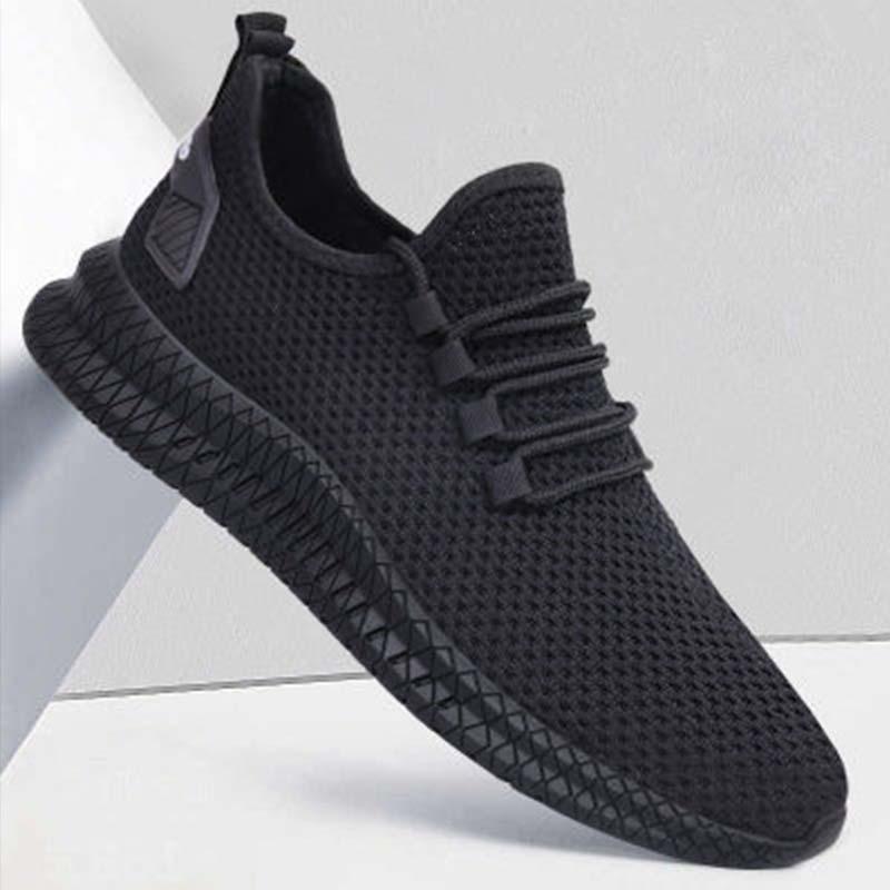 Men's shoes flat sneakers Casual shoes for men comfortable shoes breathable mesh sports shoes Men's Shoes
