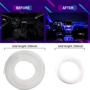 Image 2 - ANMINGPU RGB araba atmosfer iç ışık Neon LED şerit işıklar App ses kontrolü çoklu modları otomatik ortam dekoratif lamba