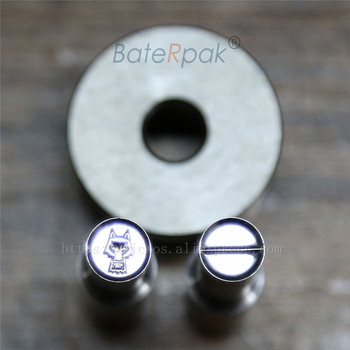8mm  Wolf Break line Circle round Candy Punch Press Mold,BateRpak Calcium Tablet Punch Pill Press Die tdp 6 6mm middle line circlar round pill press mold punch pill die moulds for punch tablet press machine
