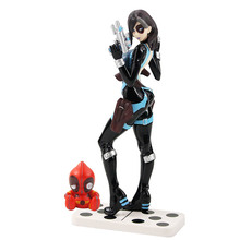 21cm X Men Deadpool Superhero Figure Domino Neena Thurman PV