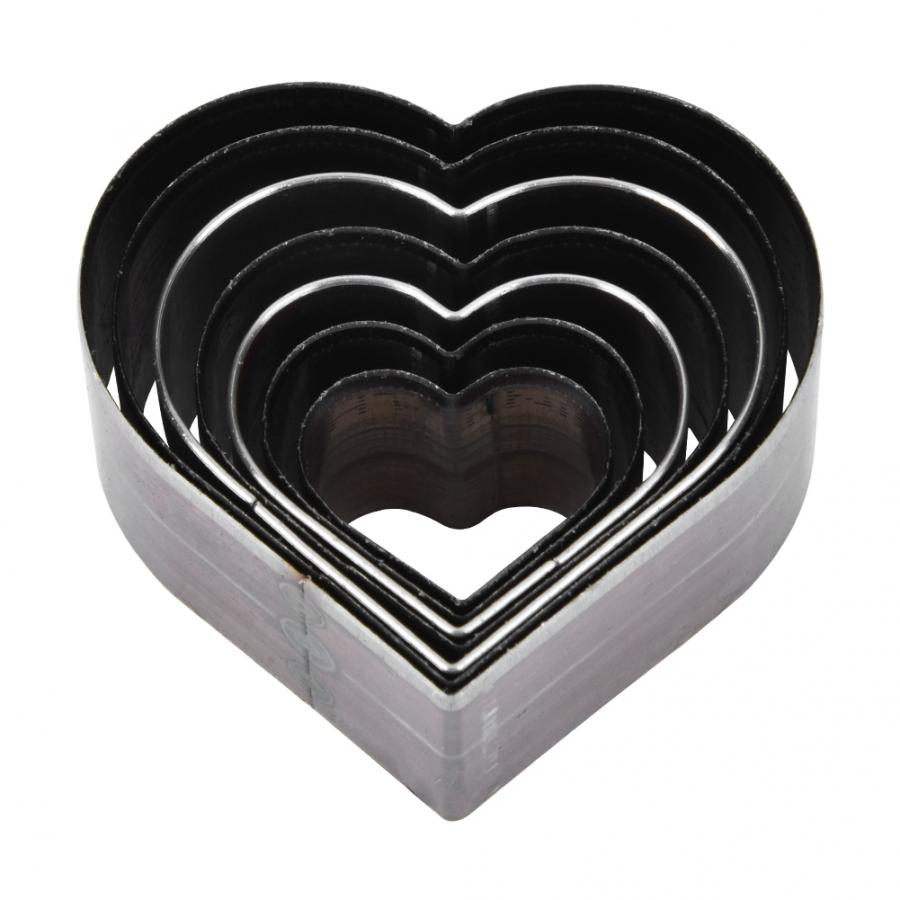 30mm Lovely Heart Shaped Leather Mold Leather Handcraft DIY Craft Tools