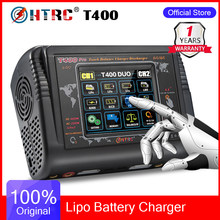 HTRC T400 Pro Lipo Battery Charger DC 400W AC 200W 12A*2 Discharger RC Charger For LiPo LiHV LiFe Lilon NiCd NiMh Pb Battery