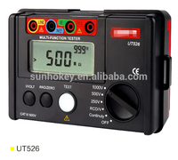 UT526 Electrical Insulation Tester Earth Resistance Meter