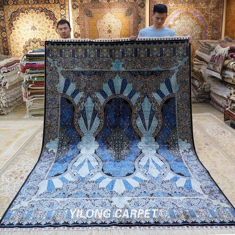 Yilong 6.56'x9.84 'ձեռքով պատրաստված - Տնային տեքստիլ - Լուսանկար 1
