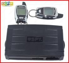 Germany Spy Two Way Car Alarm System Engine Start 2 LCD Remote 5000M Long Range Security Two-way Communication