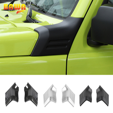 BAWA Car Stickers for Suzuki Jimny Engine Cover Angle Hood Decal Cover Trim Accessories For Suzuki jimny 2019 2020