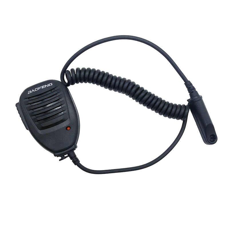 De BAOFENG micrófono hombro portátil con tornillo para $TERM impacto BAOFENG A58 BF-9700 UV-9R R760 82WP Walkie Talkie jamón Mic