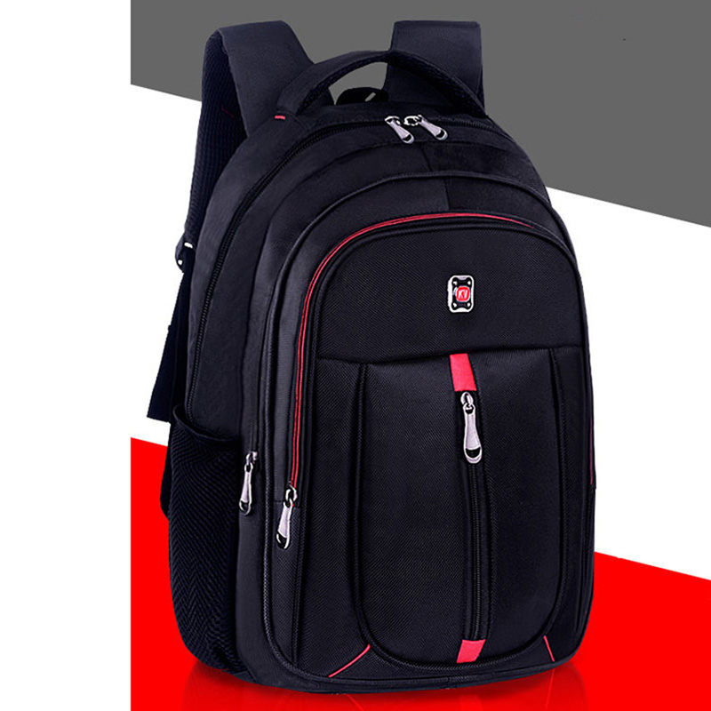 Men's Backpack Oxford Cloth Material British Casual Fashion Academy Style High Quality Design Large Capacity Multifunctional
