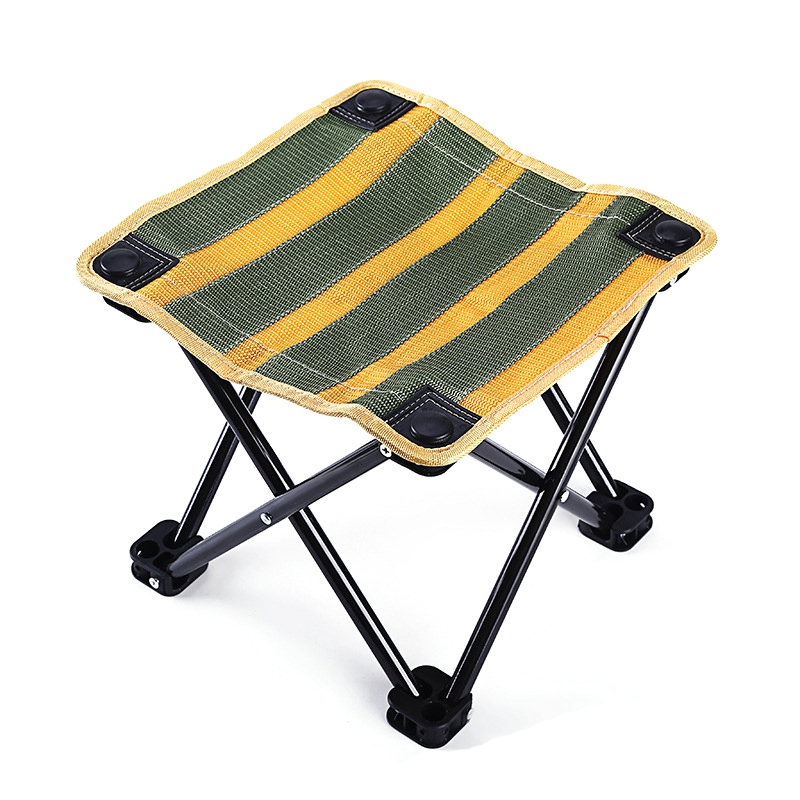 Folding Stool Fishing Gear Fishing Small Chair Portable Folding Stool Fishing Supplies Camping Outdoor Hiking Fishing Trip