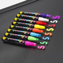 Neon-Pen Liquid-Chalk-Marker Highlighter Blackboard Painting Writing-Board Graffiti Fluorescent