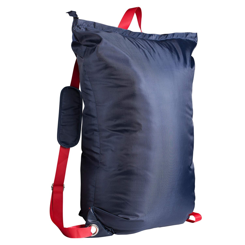 Large Laundry Bag 24 Inch X34 Inch With Zipper, College Laundry Backpack With 2 Strong Adjustable Shoulder Straps For College St