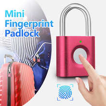 KERUI P3 Mini Anti-theft Intelligent Smart Security Fingerprint Padlock Suitcase Luggage Door Electric Electronic Lock Keyless - DISCOUNT ITEM  46% OFF Security & Protection