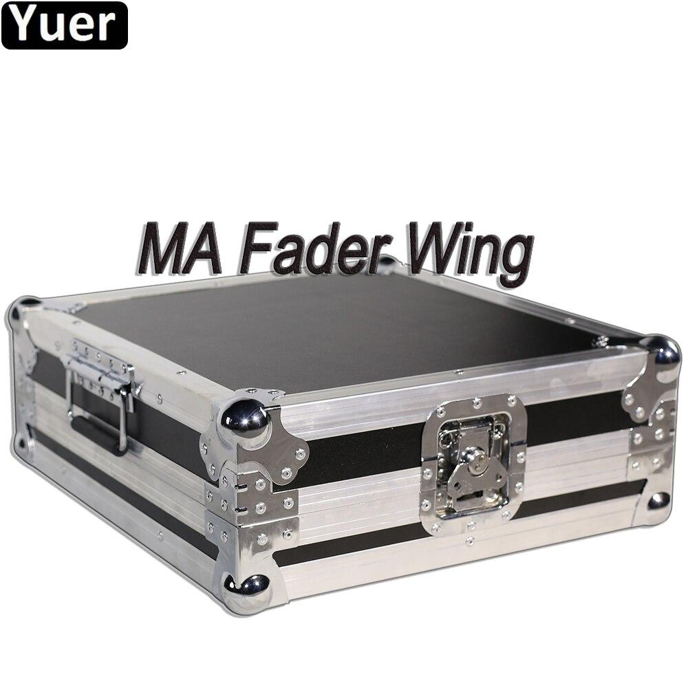 MA Fader aile scène lumière Console LED lumière principale mobile DMX Console DMX512 contrôleur pour Disco fête musique son DJ éclairage
