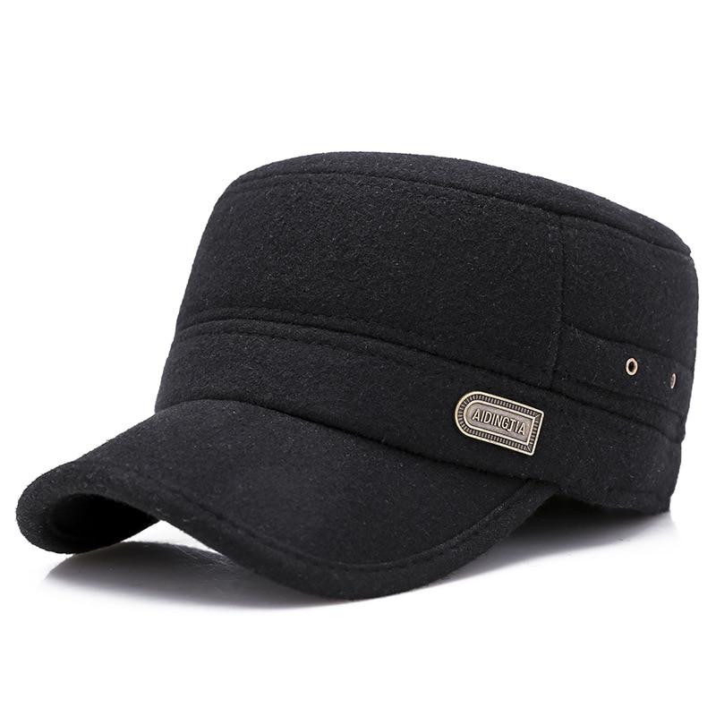 Hat Earmuffs Winter Outdoor Warm And Autumn Men 8633 Flat-Cap Fishing-Mountaineering