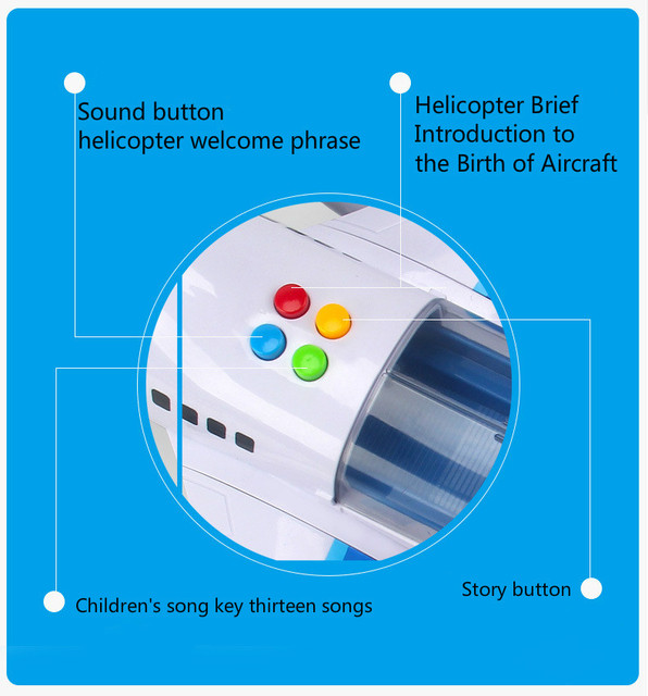 New Plane Kids Airliner Toy CarMusic Story Simulation Track Inertia Children's Toy Aircraft Large Size Passenger Free Gift Map 3