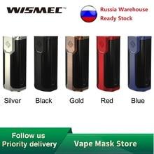 Wismec Sinuous P80 TC мод питание от 18650 батареи Sinuous P80 коробка мод 80 Вт VW/Bypass электронная сигарета Vape испаритель