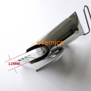 Image 2 - Edge Plain Tape Binder + Needle plate For Extra heavy material Car seat