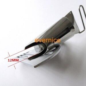 Image 2 - Edge Plain Tape Bindmiddel + Naald plaat Voor Extra zware materiaal autostoel