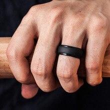 חדש מזון כיתה ה FDA סיליקון טבעות גברים חתונה גומי להקות היפואלרגנית גמיש אנטיבקטריאלי סיליקון אצבע טבעת