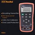 RuoShui 04 калибратор напряжения тока петля 24 В синтезатор сигнала hart функция генератор DC V A Электрический