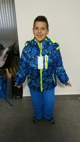 Jaquetas de esqui Jaqueta Crianças Espessamento